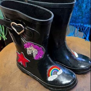 Other - Girls Rubber Boots size 2 Girls